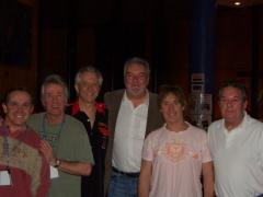 John Virgo together with the Dozies - click to enlarge