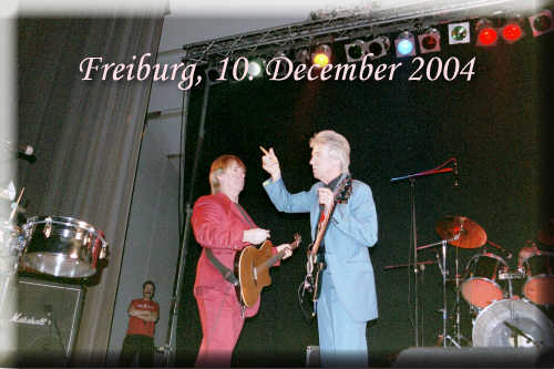 Freiburg / Germany, Oldie Night 10. December 2004 - Dozy, Beaky, Mick & Tich - click to read review