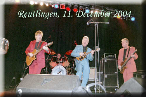 Reutlingen / Germany, Oldie Night 11. December 2004 - Dozy, Beaky, Mick & Tich - click to read review